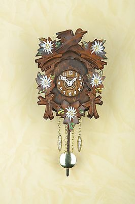 Black Forest Pendulum Clock Kuckulino, Cuckoo, Made in Germany Gift Handpainted