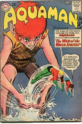 Aquaman # 10 - Hot Title - Jla Film - Aqualad - Quisp - Nick Cardy Art
