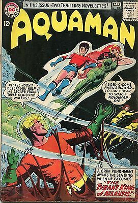 Aquaman # 14 - Hot Title - Jla Film - Aqualad - Nick Cardy Art