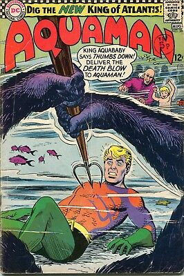 Aquaman # 28 - Hot Title - Jla Film - Aqualad - Aquababy - Nick Cardy Art