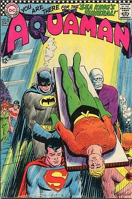 Aquaman # 30 - Hot Title - Jla Film - Death Of Aquaman - Nick Cardy Art - Cents