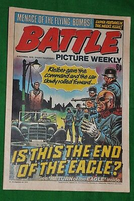 Battle Picture Weekly 4th October 1975