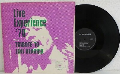 "12"" LP Live Experience Band-Tribute To Jimi Hendrix GER Psychedelic Rock"