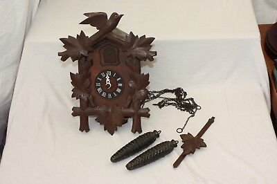 Vintage Black Forest German Cuckoo Clock