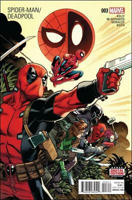 Marvel Comics - Spider-Man / Deadpool #3 - Nm 1St Printing May 2016 New Unread