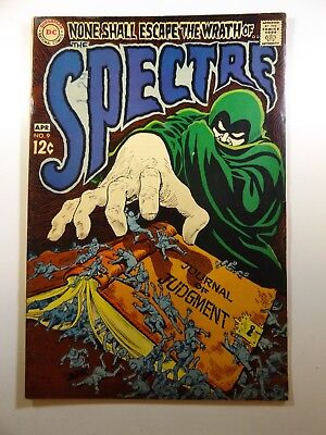 """The Spectre #9 """"Journal of Judgement!"""" Beautiful VG+ Condition!!"""