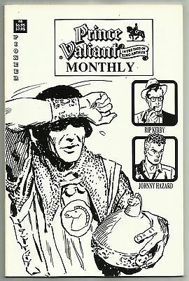 PRINCE VALIANT MONTHLY #8 (Last Issue, Includes Rip Kirby & Johnny Hazard) 1989