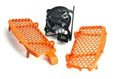 Trail TechRadiator Guard Fan Kit Combo - KTM 16-18 125 300 450 500