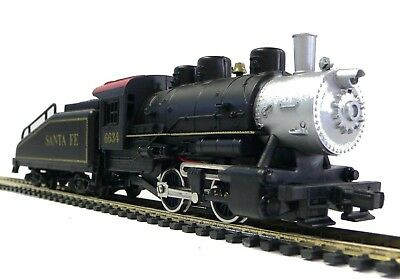 HO Scale Model Railroad Trains Layout Engine Santa Fe 0-4-0  Switcher w/ Tender
