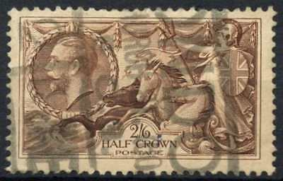 GB KGV 1934 SG#450, 2s6d Chocolate, Brown Seahorse Used #D79455