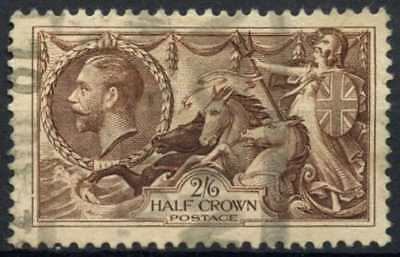 GB KGV 1934 SG#450, 2s6d Chocolate, Brown Seahorse Used #D79456
