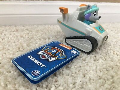 Paw Patrol Everest Rescue Snowmobile Racer Nick Jr