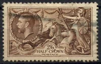 GB KGV 1934 SG#450, 2s6d Chocolate, Brown Seahorse Used #D79460
