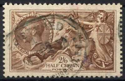 GB KGV 1934 SG#450, 2s6d Chocolate, Brown Seahorse Used #D79461