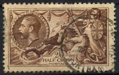 GB KGV 1934 SG#450, 2s6d Chocolate, Brown Seahorse Used #D79462