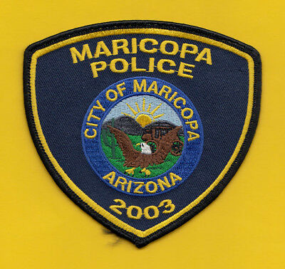M33 * Old Maricopa City Arizona State Highway Police Patch 2003 *