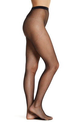 Wolford 4747 Clove Netsation Tights Size: Large MSRP $67.00 NIP