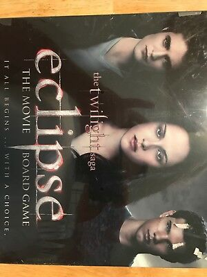 The Twilight Saga ECLIPSE The Movie Board Game, NEW SEALED PKG