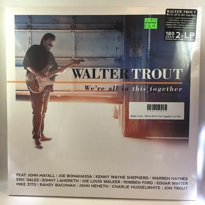Walter Trout - We're All In This Together 2LP NEW