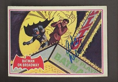 Adam West Batman DC Comics 1966 Topps Auto Autograph 2001 American Pie