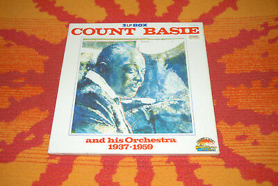 ♫♫♫ Count BAsie and his Orchestra 1937 - 1959, 3 LP Boxset JT-2507/3  OVP NOS♫♫♫