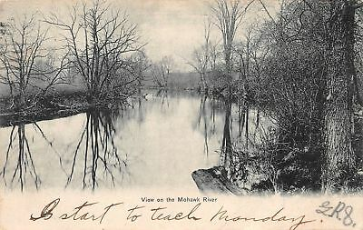C09-5782, View On The Mohawk River, 1906 Postmarked.