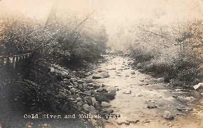 C09-5817, Real Photo Postcard, Cold River And Mohawk Trail,