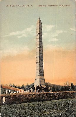 C09-5875, General Herkimer Monument, Little Falls, Ny. 1907 Postmarked.