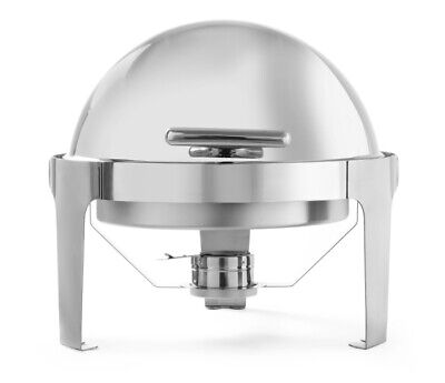 Chafing Dish Roll Top round Food Warmer Hot