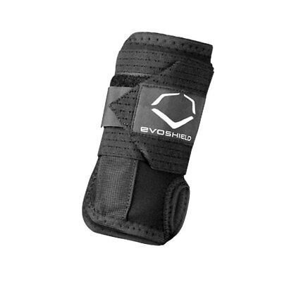 Evoshield Left Hand Baseball/Softball Sliding Wrist Guard - Black - LG/XL