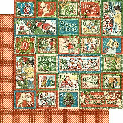 "Christmas Magic Double-Sided Cardstock 12""X12""-Countdown Surprise"