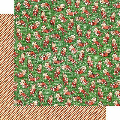 "Christmas Magic Double-Sided Cardstock 12""X12""-Santa's Little Helpers"
