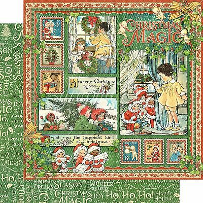 "Christmas Magic Double-Sided Cardstock 12""X12""-Christmas Magic"