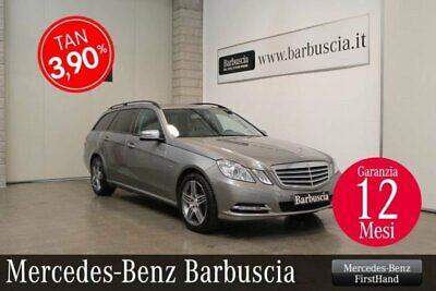 Mercedes-Benz Classe E (W/S212) E 220 CDI S.W. BlueEFFICIENCY Avantgar