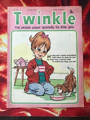 Twinkle  Comic No. 376. 5 April 1975 Puzzles Not Done. Vfn