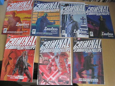 CRIMINAL : BUNDLE of 17 DIFFERENT ISSUES by ED BRUBAKER,SEAN PHILLIPS. ICON.2006