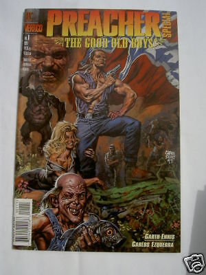 """PREACHER SPECIAL : """"GOOD OLD BOYS"""" GIANT SIZE ONE-SHOT by GARTH ENNIS. DC. 1997"""