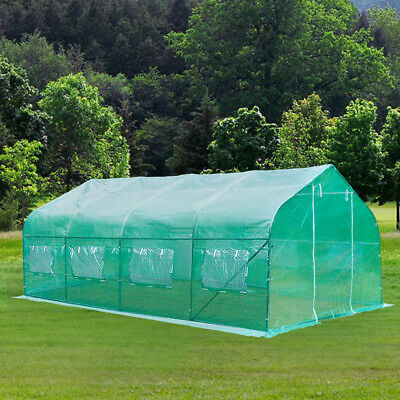 20'x10'x7' Walk-In GREEN HOUSE Plant Gardening Greenhouse Steel Portable Outdoor
