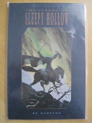 The LEGEND of SLEEPY HOLLOW : 1992 TUNDRA GRAPHIC NOVEL by BO HAMPTON. NM,UNREAD