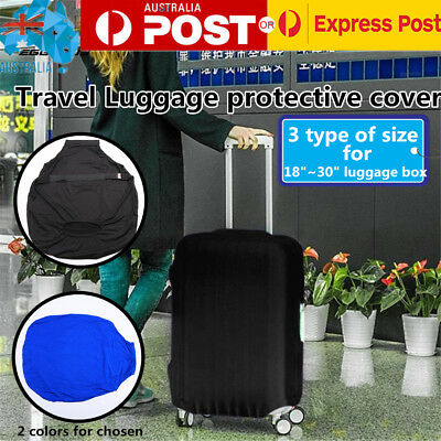 "Travel Luggage Bags Case Trolley Stretch Dustproof Cover for 18""~30"" Suitcase AU"