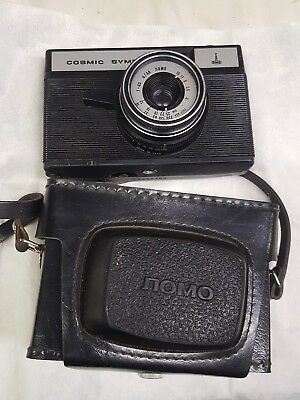 Cosmic Symbol Russian 35mm camera. Fully working VGC with hard leather case Lomo