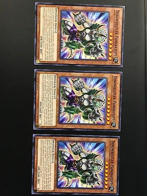 3X Dinowrestler Pankratops COMMON SOFU-EN009 SOUL FUSION IN HAND!