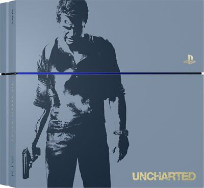 Sony PlayStation 4 - Uncharted 4: Limited Edition 500GB Gray Console *UNIT ONLY*