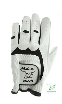 6 Pack Men's All Cabretta Leather Golf Gloves Mlh For Right Handed Golfers