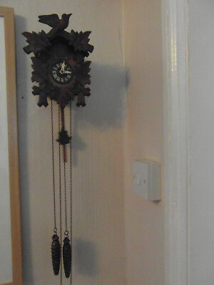 Vintage Black Forest Cuckoo Clock { Excellent Condition }