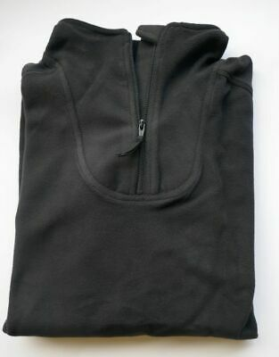 """NEW - Latest Issue BLACK Fleece Thermal PCS Shirt Size 170/90 (39"""" Chest)"""