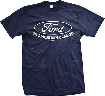 Ford An American Classic Mustang Racing Shelby Tough Muscle Cars Mens T-shirt