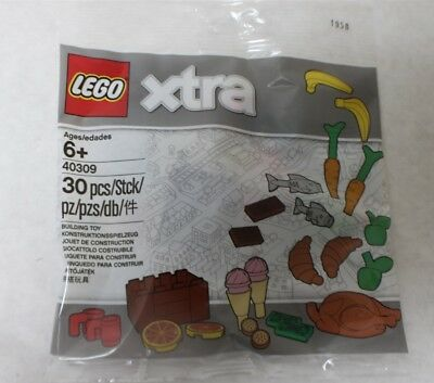 Lego Xtra 40309 New /& Sealed Polybag Food Accessories