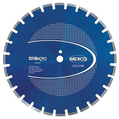 "Mexco 18"" / 450mm Asphalt Tarmac Cutting Diamond Floor Saw Road Saw Blade"