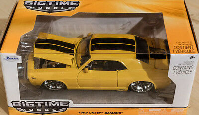 1969 Chevy Camaro rot red Chevrolet in 1:24 Jada Toys 97402